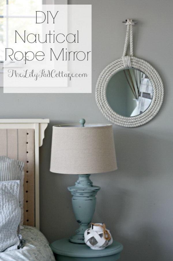 5 rope crafts - 25 DIY Rope Craft Ideas