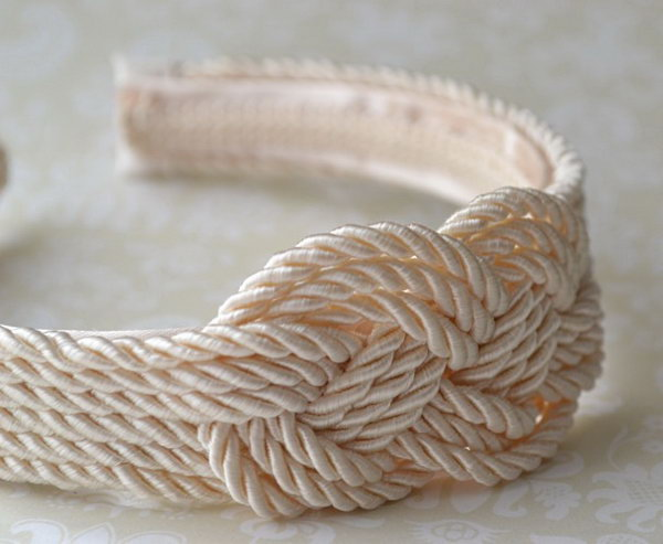 8 rope crafts - 25 DIY Rope Craft Ideas