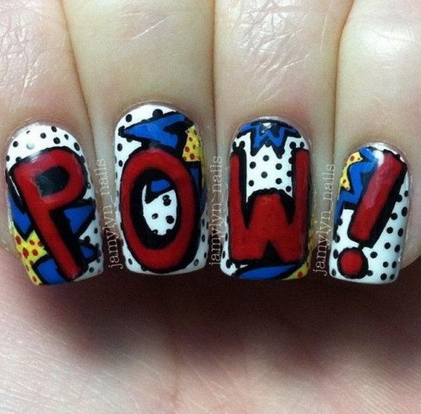 34 cute 4th of july patriotic nail art - 36 Cute 4th of July Patriotic Nail Art Ideas