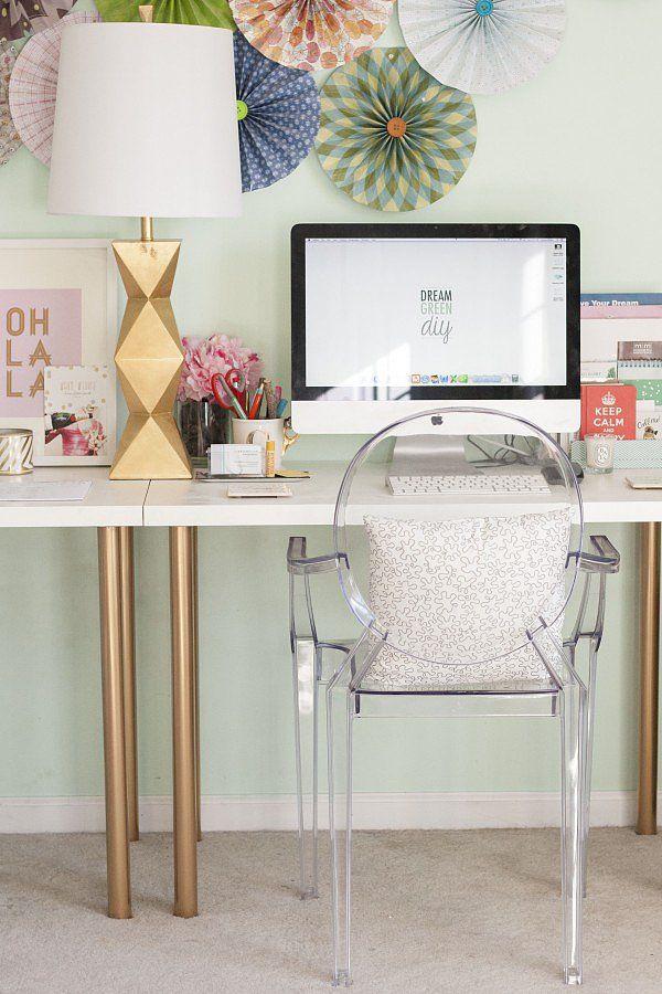 1 ikea desk hacks - 20+ Cool and Budget IKEA Desk Hacks