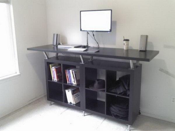 4 ikea desk hacks - 20+ Cool and Budget IKEA Desk Hacks