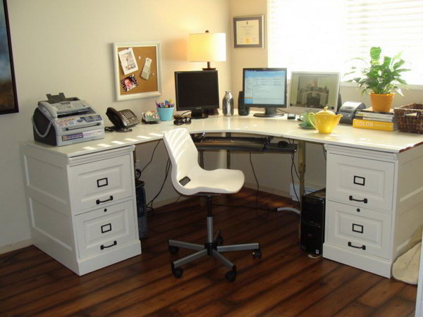 7 ikea desk hacks - 20+ Cool and Budget IKEA Desk Hacks