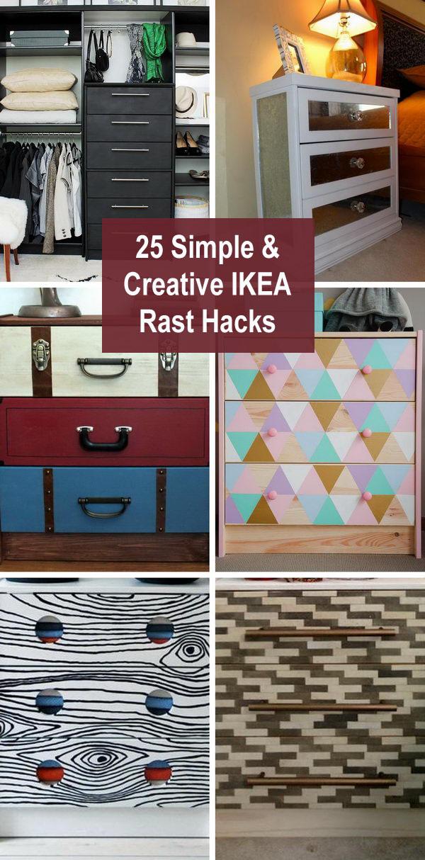 ikea rast hacks - 25 Simple and Creative IKEA Rast Hacks