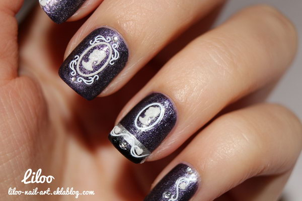 13 purple nail art designs - 30+ Trendy Purple Nail Art Designs You Have to See