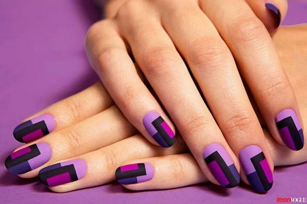 15 purple nail art designs - 30+ Trendy Purple Nail Art Designs You Have to See