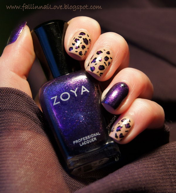 30 purple nail art designs - 30+ Trendy Purple Nail Art Designs You Have to See