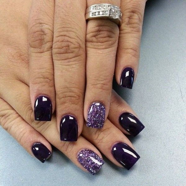 31 purple nail art designs - 30+ Trendy Purple Nail Art Designs You Have to See