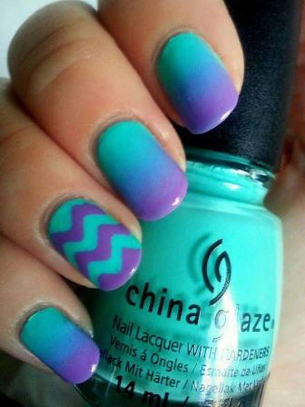 33 purple nail art designs - 30+ Trendy Purple Nail Art Designs You Have to See
