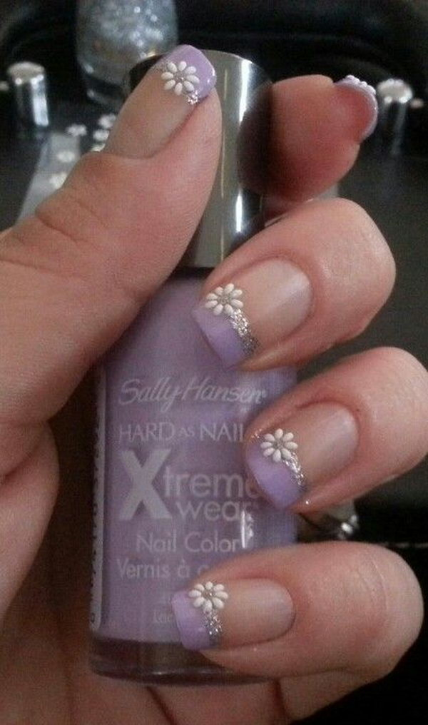 36 purple nail art designs - 30+ Trendy Purple Nail Art Designs You Have to See