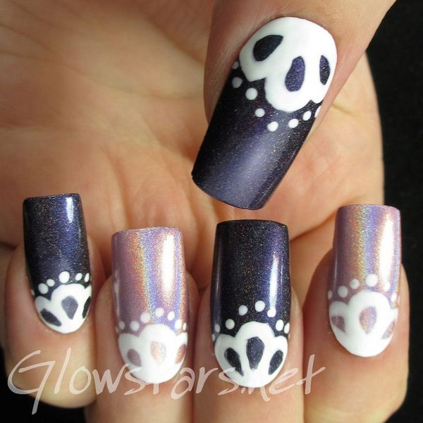 6 purple nail art designs - 30+ Trendy Purple Nail Art Designs You Have to See