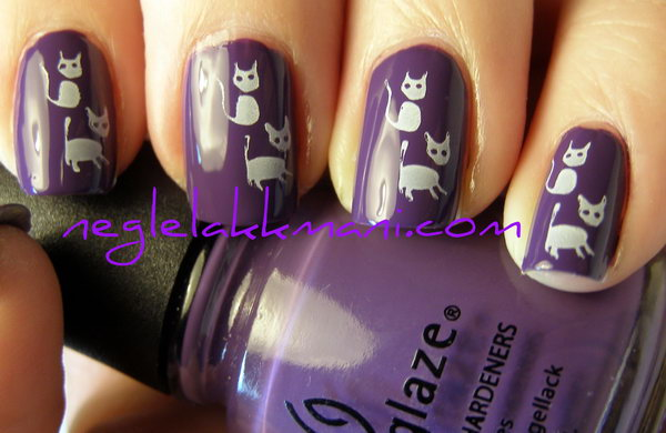 7 purple nail art designs - 30+ Trendy Purple Nail Art Designs You Have to See
