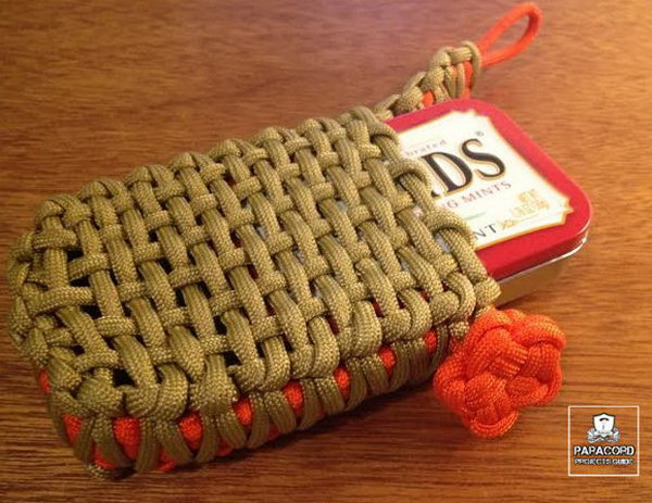 17 diy paracord projects - Cool DIY Paracord Projects