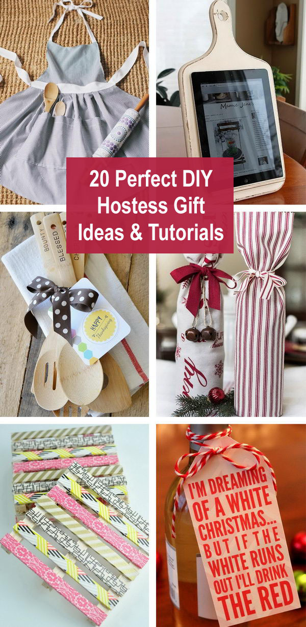 hostess gift ideas - 20 Perfect DIY Hostess Gift Ideas & Tutorials