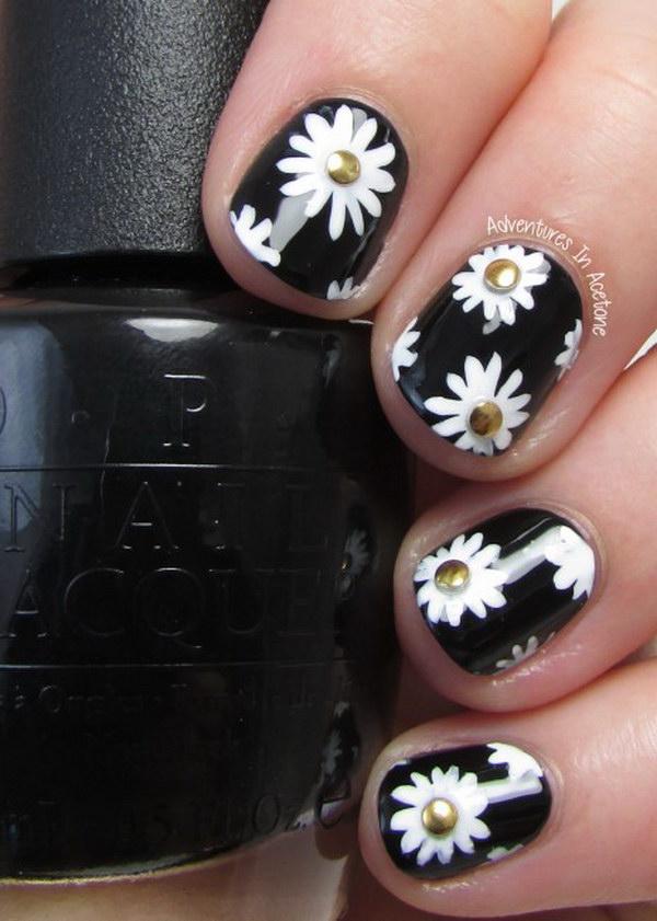 53 black and white nail designs - 80+ Black And White Nail Designs