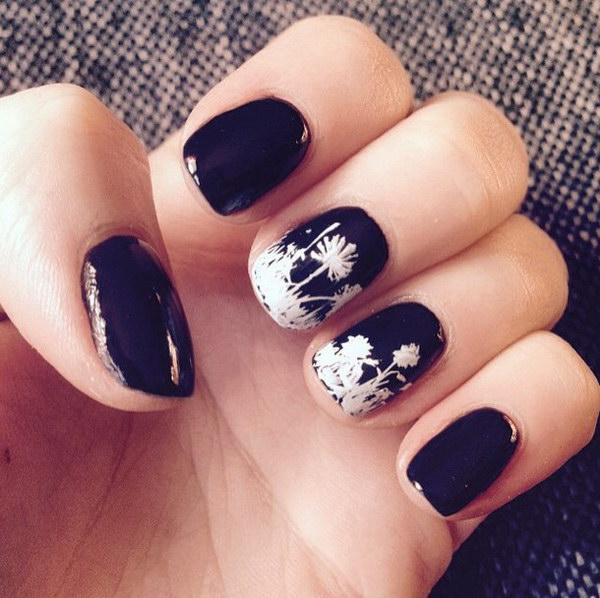 56 black and white nail designs - 80+ Black And White Nail Designs