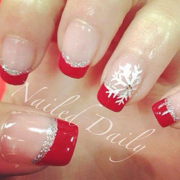 1 christmas nail art designs - 50 Festive Christmas Nail Art Designs