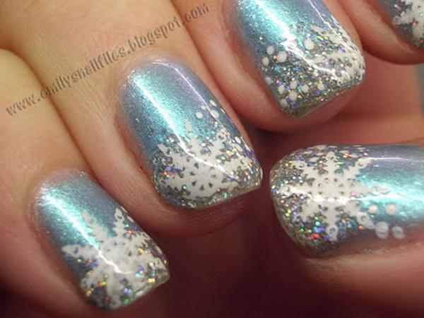 43 christmas nail art designs - 50 Festive Christmas Nail Art Designs