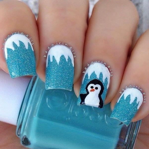 48 christmas nail art designs - 50 Festive Christmas Nail Art Designs