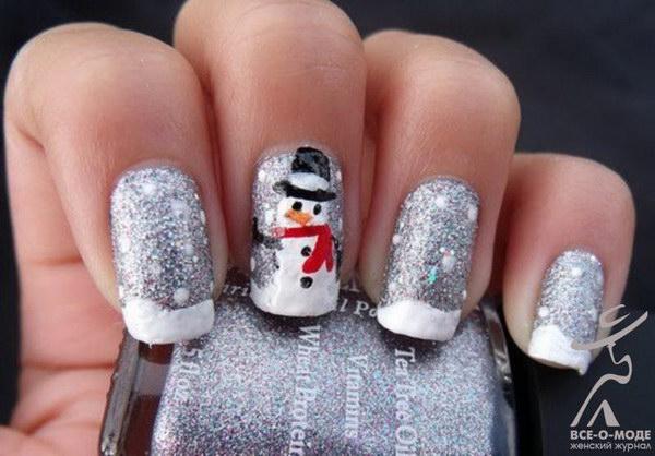 8 christmas nail art designs - 50 Festive Christmas Nail Art Designs