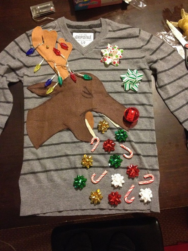 22 ugly christmas sweater party ideas - 20 Ugly Christmas Sweater Party Ideas