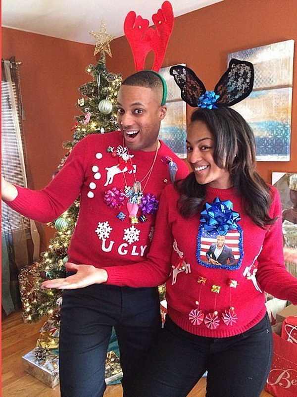9 ugly christmas sweater party ideas - 20 Ugly Christmas Sweater Party Ideas