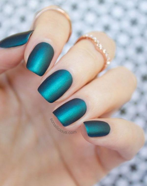 36 green nail art designs - 100+ Awesome Green Nail Art Designs