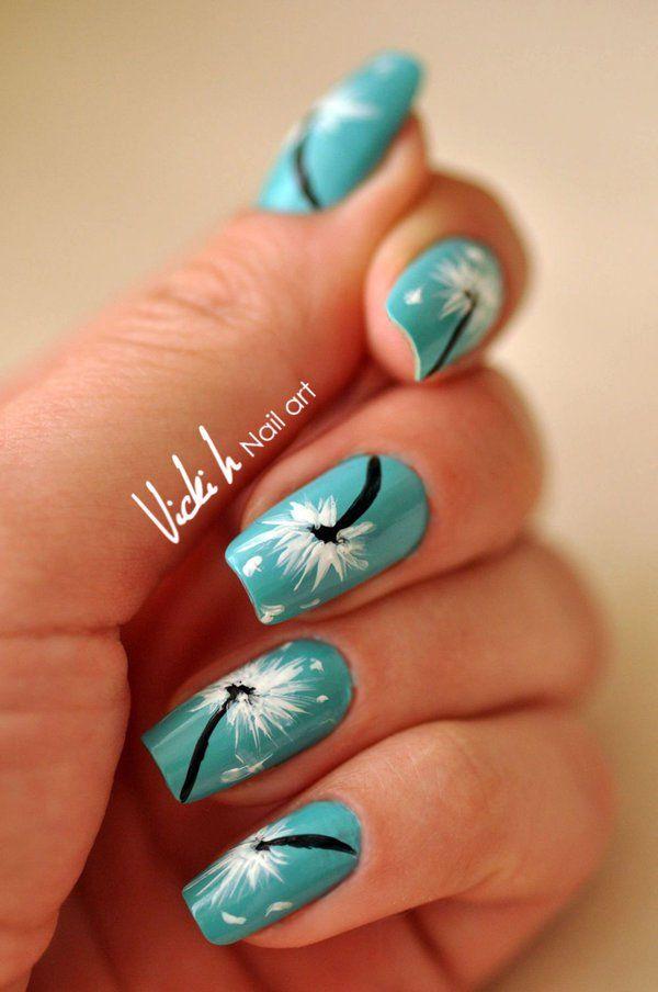51 green nail art designs - 100+ Awesome Green Nail Art Designs