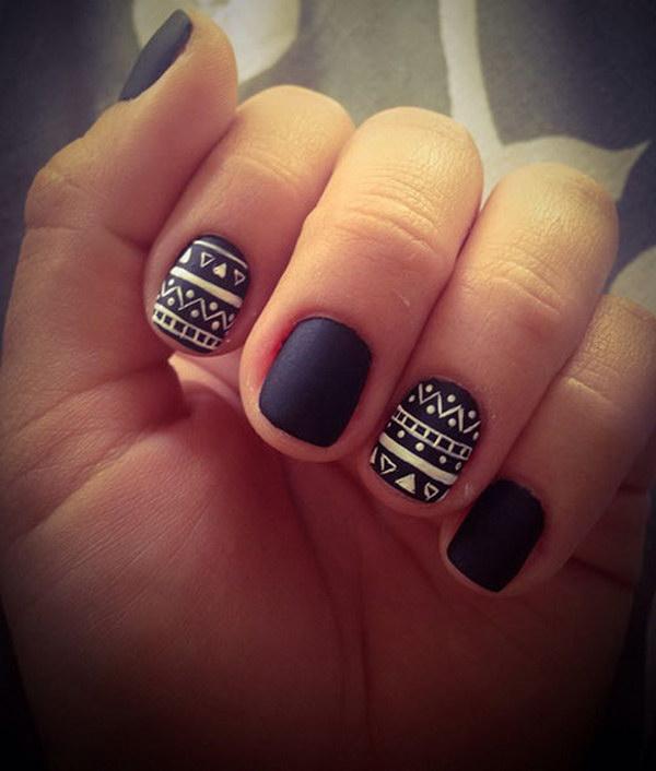 12 matte nail designs - 60 Pretty Matte Nail Designs