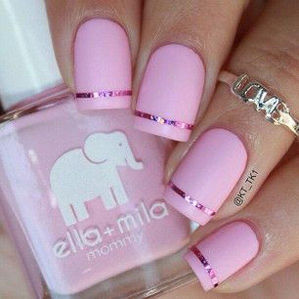 14 matte nail designs - 60 Pretty Matte Nail Designs