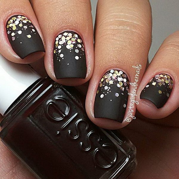 20 matte nail designs - 60 Pretty Matte Nail Designs