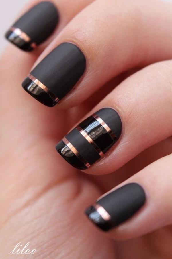 22 matte nail designs - 60 Pretty Matte Nail Designs