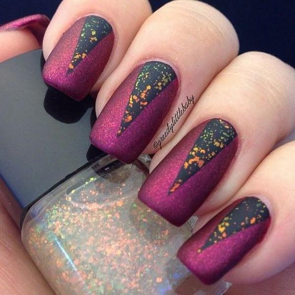 44 matte nail designs - 60 Pretty Matte Nail Designs