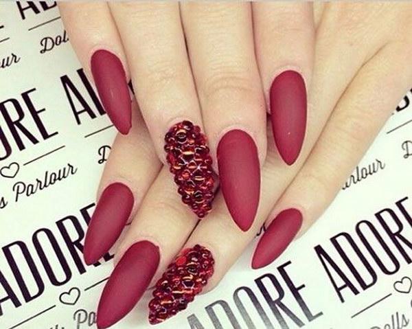 50 matte nail designs - 60 Pretty Matte Nail Designs