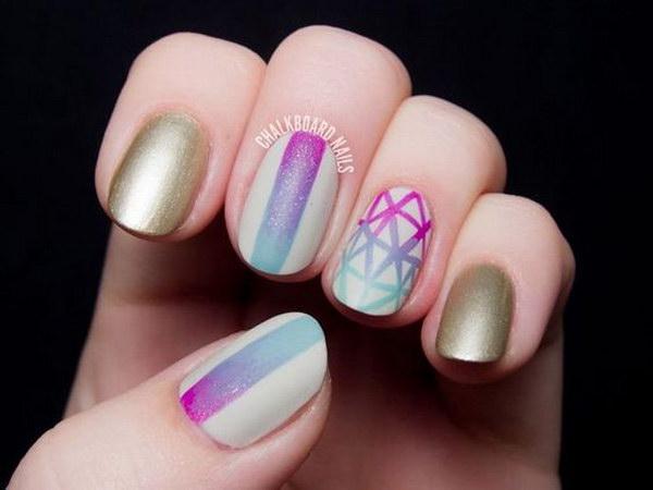 51 matte nail designs - 60 Pretty Matte Nail Designs