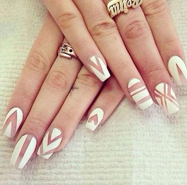 57 matte nail designs - 60 Pretty Matte Nail Designs