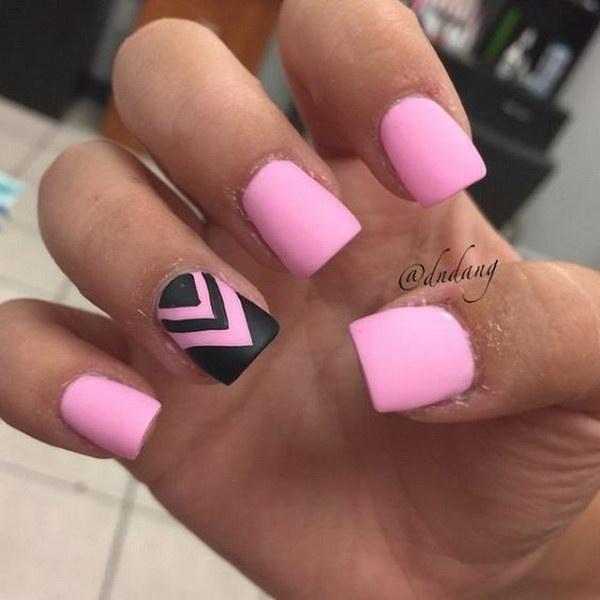 58 matte nail designs - 60 Pretty Matte Nail Designs