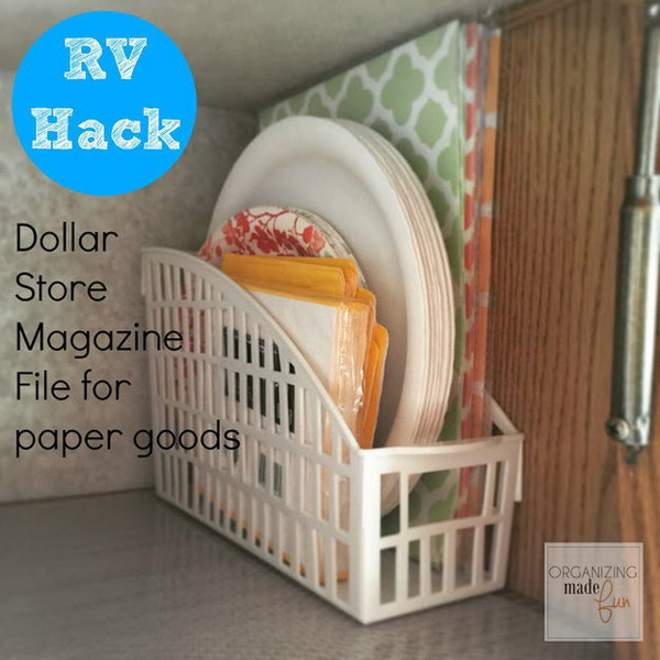8 dollar store organizing ideas - Cool Dollar Store Organizing & Storage Ideas