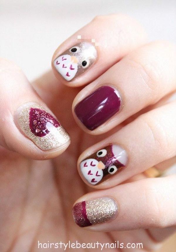 13 fall nail art designs - Fall Nail Art Designs