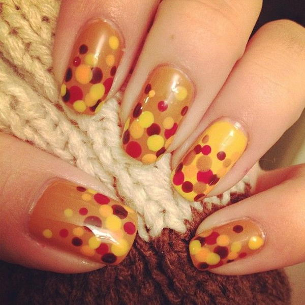 26 fall nail art designs - Fall Nail Art Designs