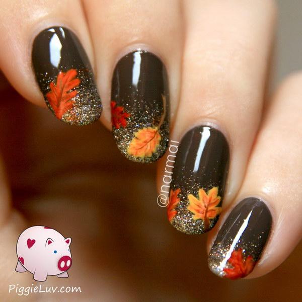 5 fall nail art designs - Fall Nail Art Designs