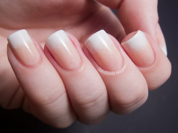 12 french tip nail designs - 60 Fashionable French Nail Art Designs And Tutorials