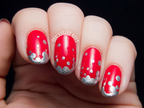 14 french tip nail designs - 60 Fashionable French Nail Art Designs And Tutorials