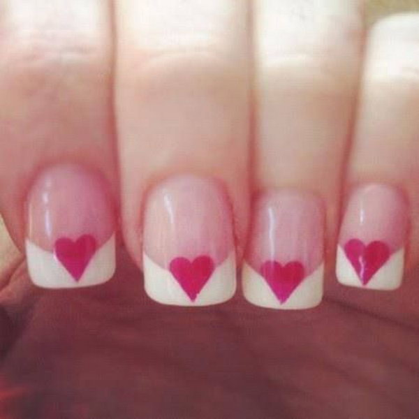 36 french tip nail designs - 60 Fashionable French Nail Art Designs And Tutorials