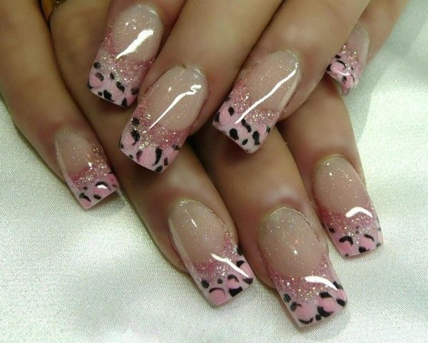 61 french tip nail designs - 60 Fashionable French Nail Art Designs And Tutorials