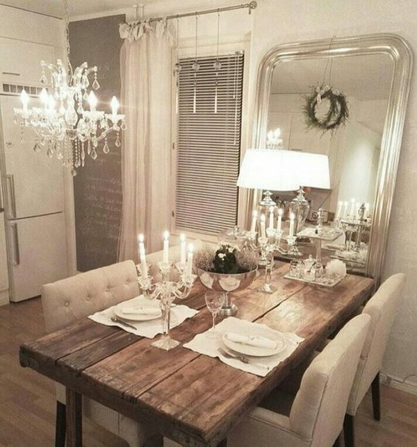 Shabby Chic Dining Room Ideas Awesome Tables Chairs And
