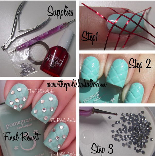15 step by step nail art tutorials - 20+ Easy and Fun Step by Step Nail Art Tutorials