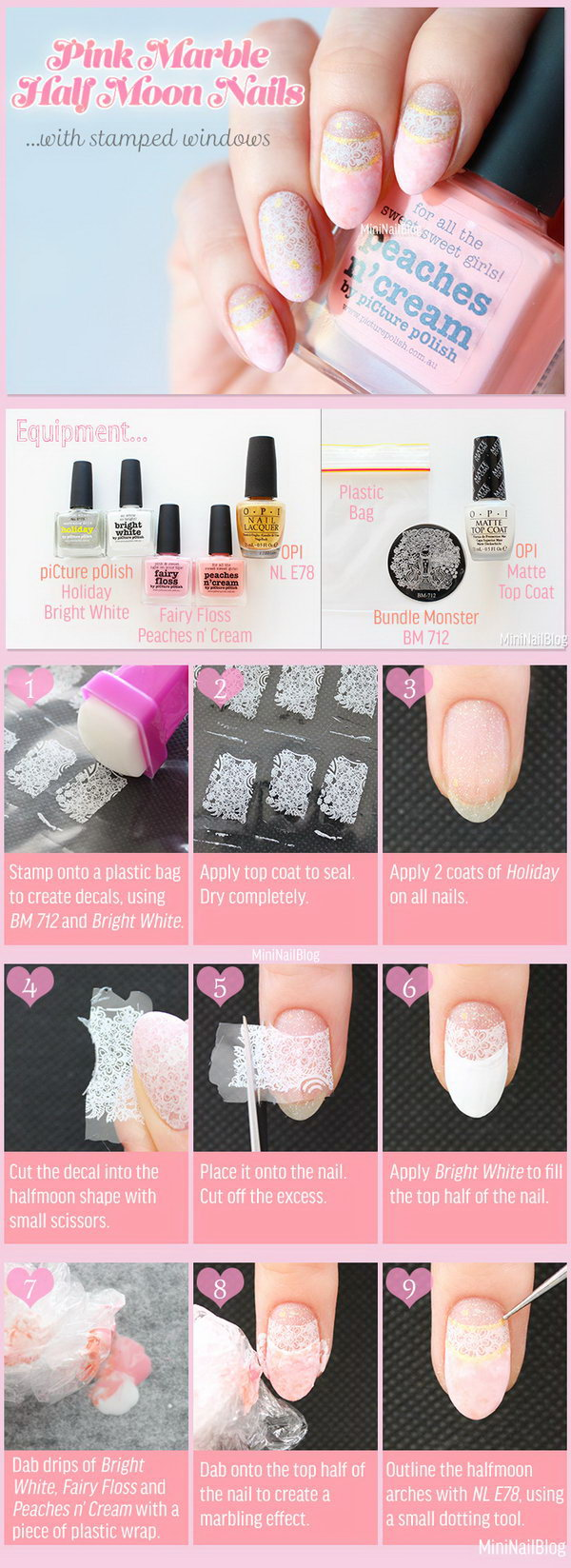 20 step by step nail art tutorials - 20+ Easy and Fun Step by Step Nail Art Tutorials
