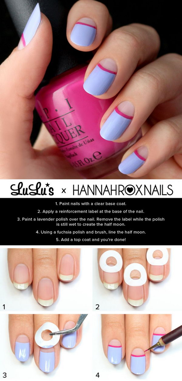 8 step by step nail art tutorials - 20+ Easy and Fun Step by Step Nail Art Tutorials