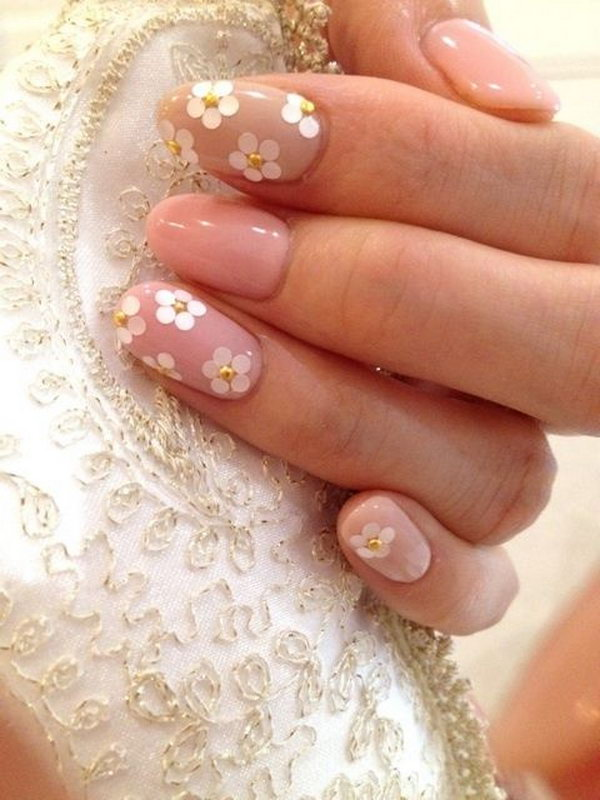 15 wedding nail art designs - 40+ Amazing Bridal Wedding Nail Art for Your Special Day
