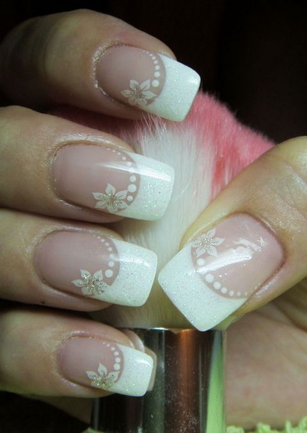 16 wedding nail art designs - 40+ Amazing Bridal Wedding Nail Art for Your Special Day